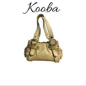 Kooba Sienna Leather Satchel